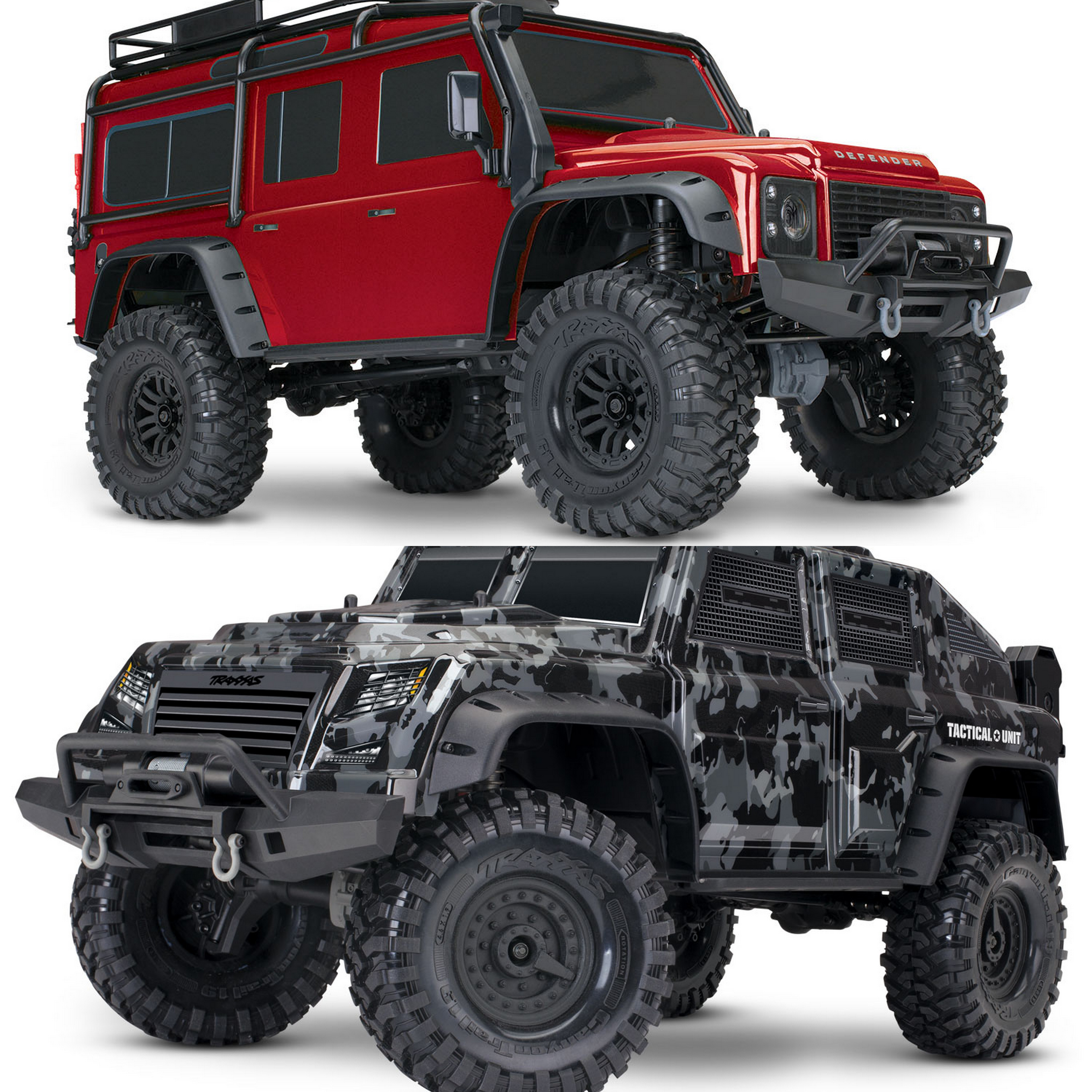 Traxxas 1/10 TRX-4 Land Rover Defender / Tactical