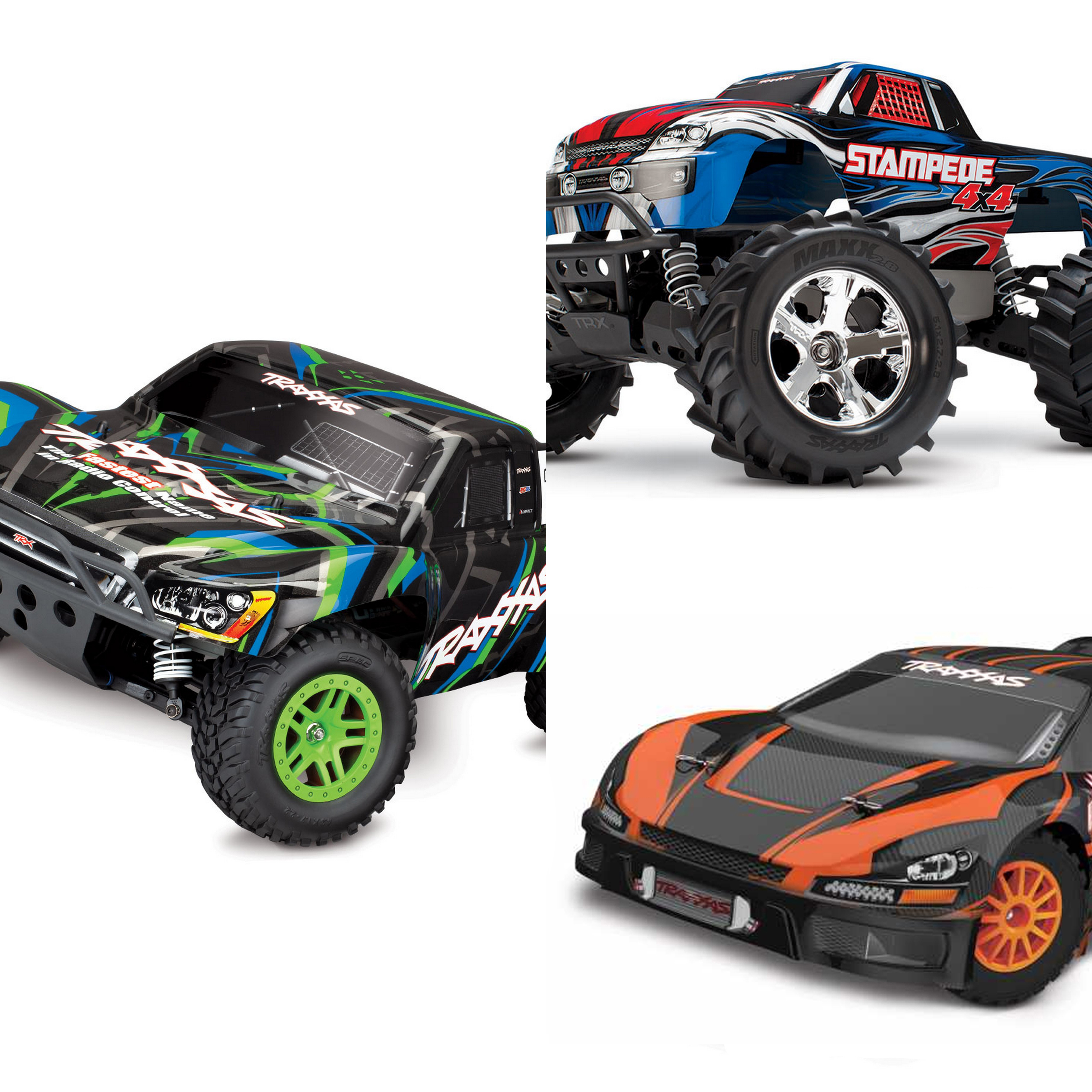 Traxxas 1/10 4x4 Slash / Stampede / Rally