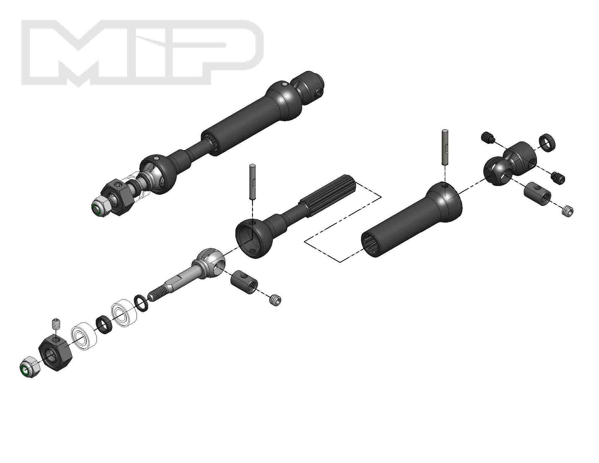 Mip X Duty Cvd Drive Kit Rear 87mm To 112mm W 5mm Bearing Traxxas Nitro Rustler Parts Diagram Quick View