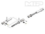 MIP Spline CVD™ Center Drive Kit, Axial Wraith #11116 *Discontinued*