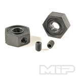 MIP 12mm Hex Adapter Keyed, X-Duty CVD™, Traxxas (2) #12140