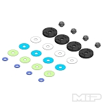 #19060 - MIP Bypass1™ Pistons, 6-Hole Set, 16mm, SWorkz S35 / S35-T 1/8th