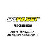 #19072 - MIP Bypass1™ Stop Washers, Agama 1/8th (4)