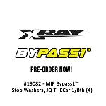 #19090 - MIP Bypass1™ Pistons, 6+6 Hole Set, 16mm, XRAY XB8'19 Series 1/8th