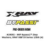 #19092 - MIP Bypass1™ Stop Washers, XRAY XB8'19 Series 1/8th (4)