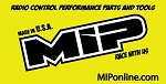 MIP Banner-Race, 24in. x 48in., Yellow #5103