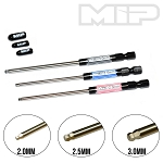#9516 - MIP Speed Tip™ Ball Hex Driver Wrench Set, Metric (3), 2.0mm, 2.5mm, & 3.0mm