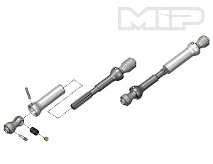 MIP Spline CVD™ Center Drive Kit, Axial SCX10 Vehicles w/12.3 in. Wheelbase #13360 *Discontinued*