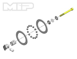 MIP Super Diff™, Carbide Rebuild Kit, All AE - MIP Puck #17095