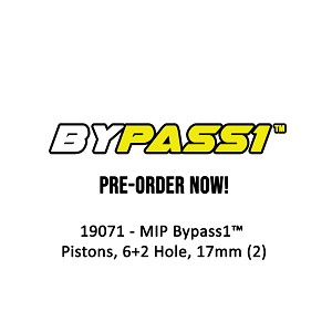 #19071 - MIP Bypass1™ Pistons, 6+2 Hole, 17mm (2)