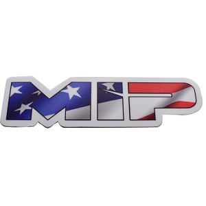 #5106 - MIP American Flag, Die Cut Vinyl Sticker, 3.73